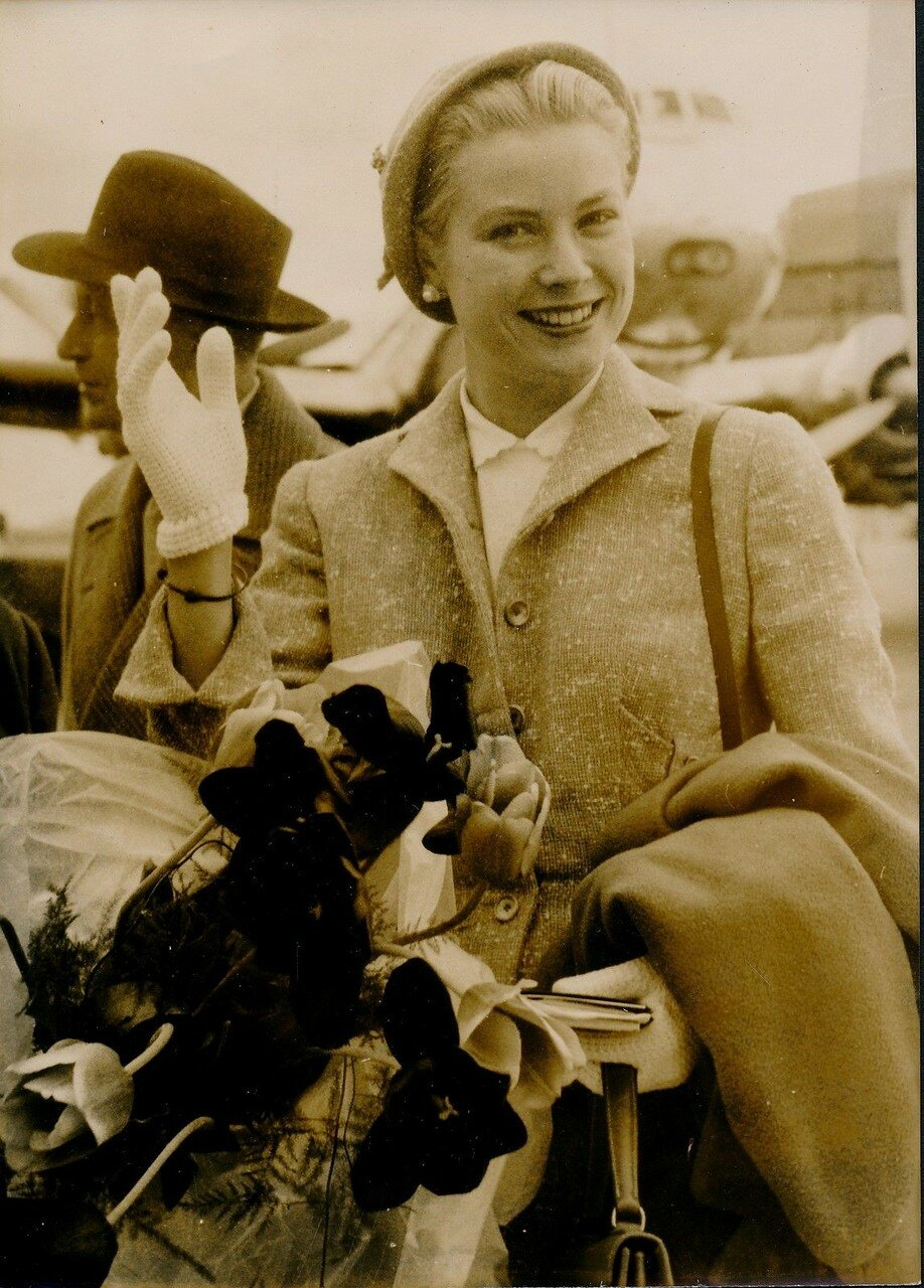 1955. Грейс Келли в Париже
