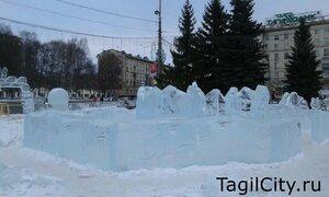 праздник,город,Нижний Тагил,Новый год,ледовый городок