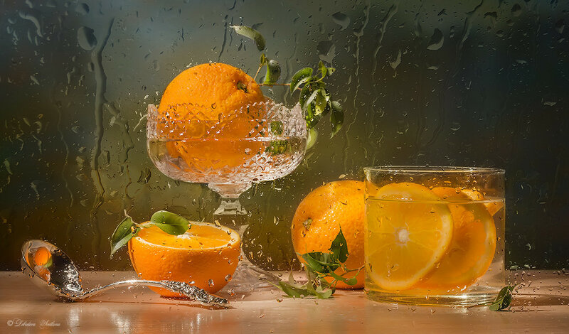 С апельсинами