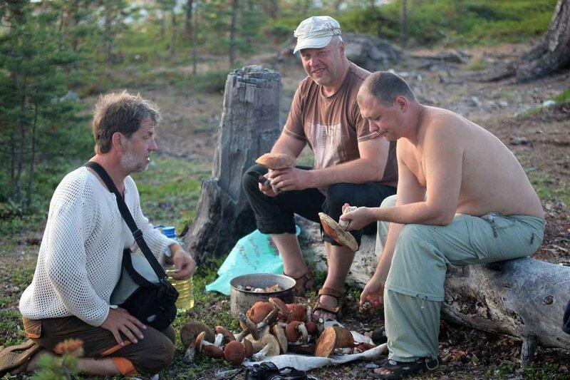 остров Сидоров, грибы, приготовление