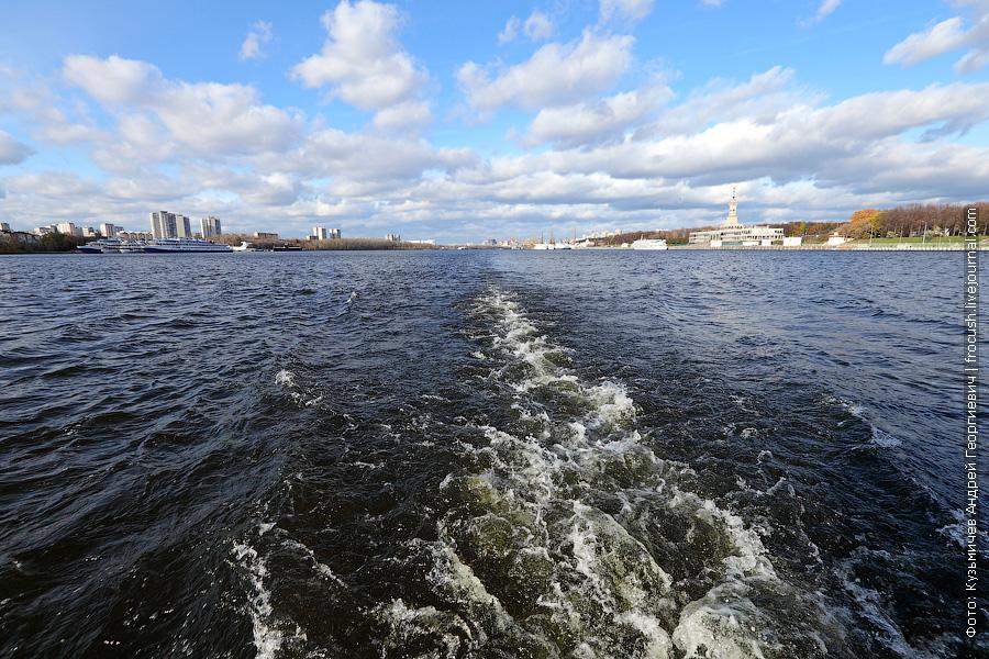 Бонус-фото. Химкинское водохранилище 27 октября 2012 года