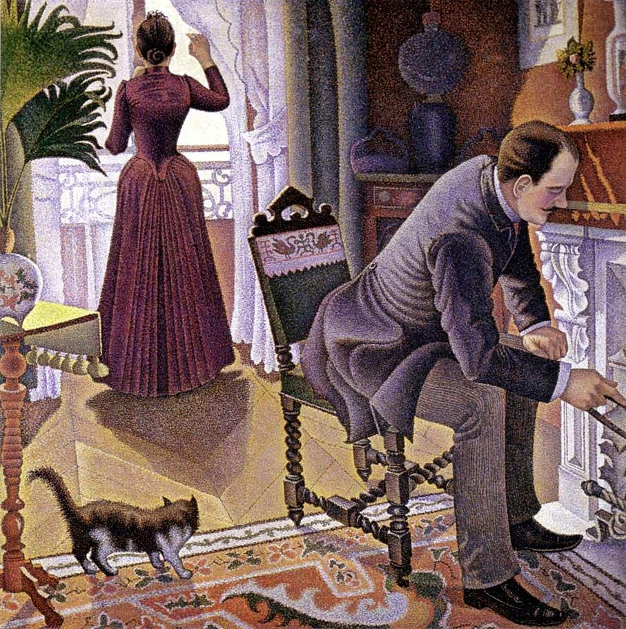 Воскресенье, (1888-1890)Синьяк Поль (1863-1935);