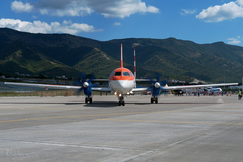 Ильюшин Ил-114ЛЛ (RA-91003) RADAR DSC_4520