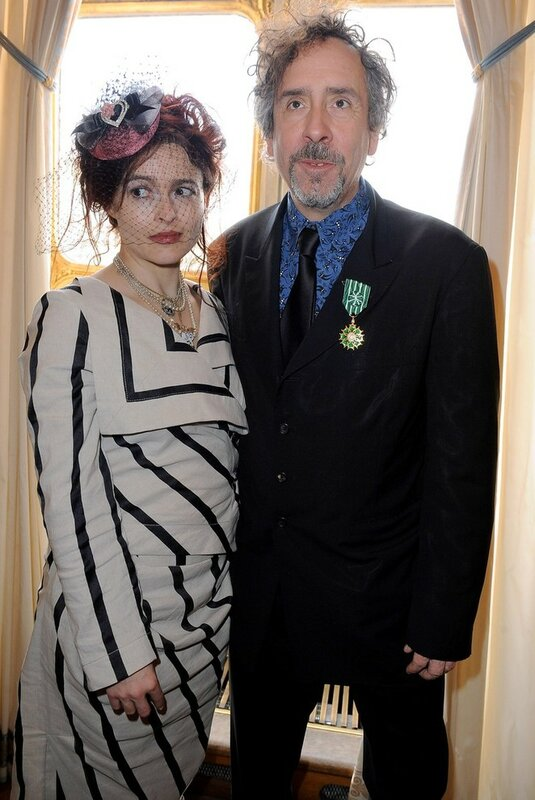 Marion Cotillard And Tim Burton Awarded Order Of Arts and Letters - Arrival