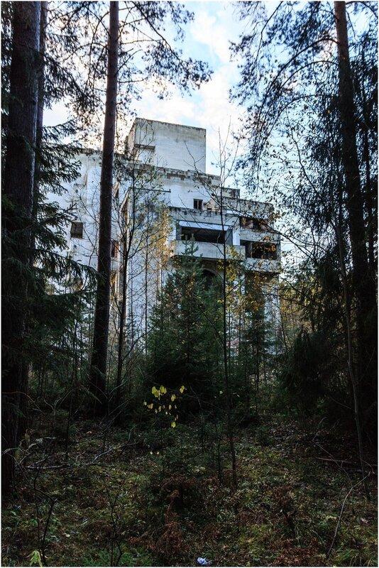 Заброшенный санаторий Минобороны, Тверская область
