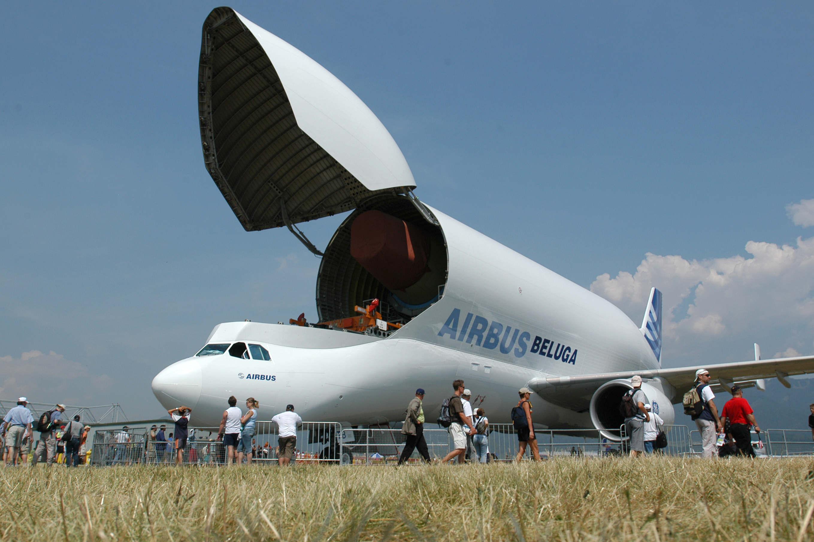 Airpower 05 in Zeltweg <br />Bild zeigt: Airbus Beluga<br />Foto:Bundesheer/MACHER