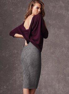 Косы до колена - юбка с аранами от Victoria`s Secret