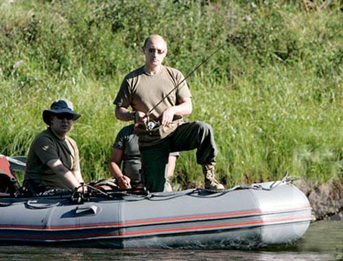 чурки на рыбалке