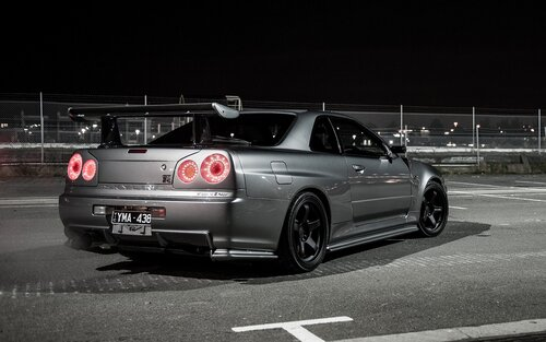 Wallpapers Nissan Skyline GT-R...