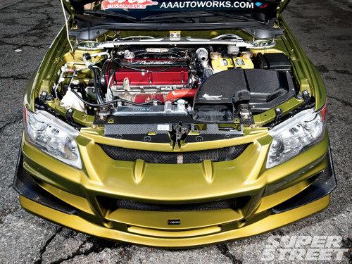 2005 Mitsubishi Lancer Evolution Front