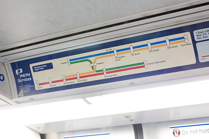 Даже на схеме метро пунктиром
