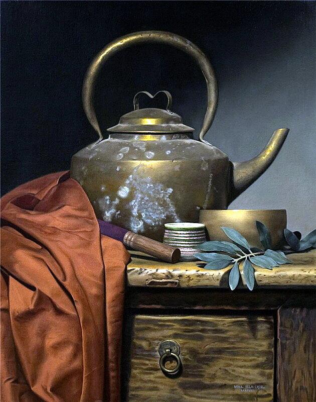 легенда о медном чайнике число экспонатов