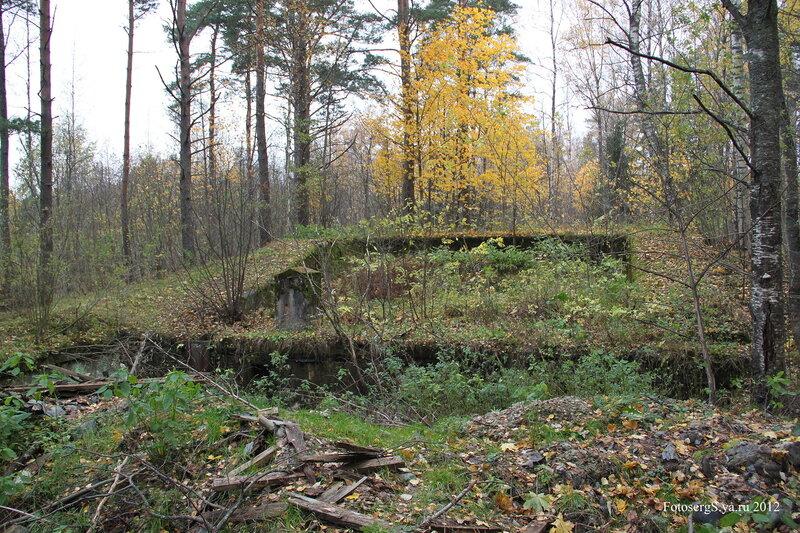 Левый (западный) башенный блок