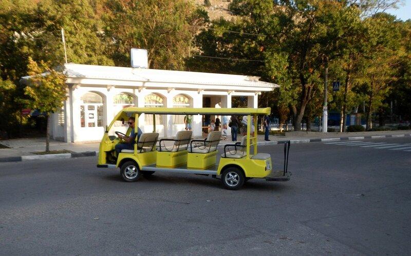 Электромобиль в Балаклаве