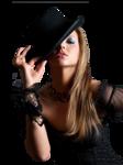Девушки в шляпах 0_a2dc8_867c86c4_S