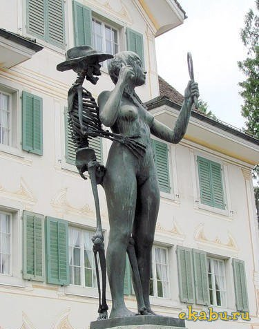 Памятник губительной женской красоте