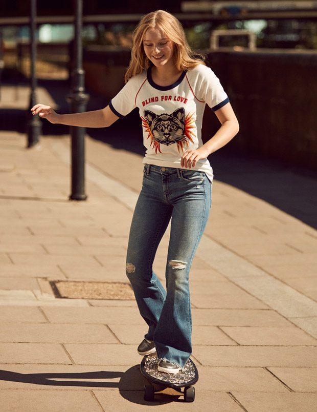 Maddi Waterhouse Stars in Tatler UK February 2017 Cover Story