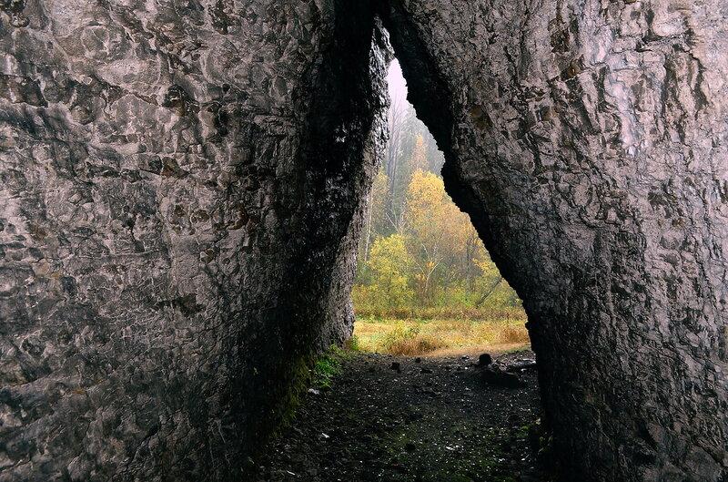 Пещера на Малом Ветлане