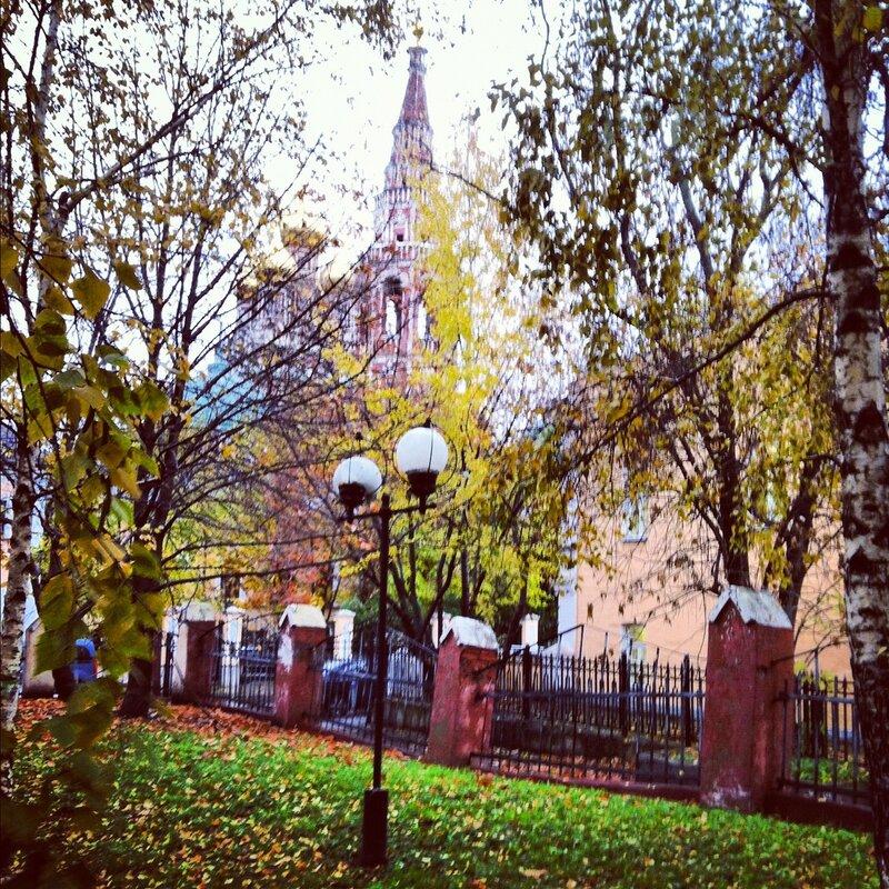 Церковь в Толмачах