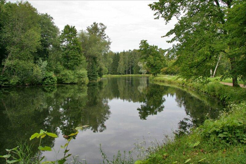 Павловский парк, Новошалейный пруд