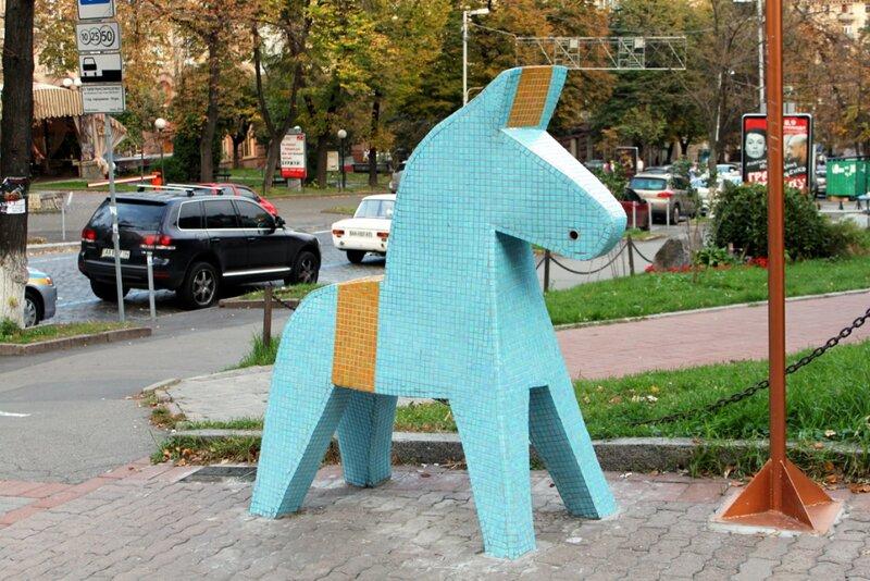 Шведская лошадка Dhala в Киеве