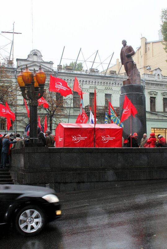 Памятник Ленину в Киеве