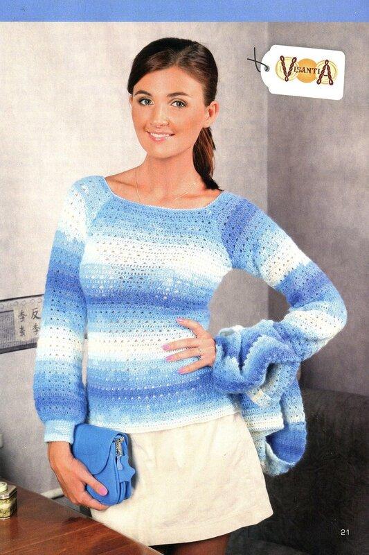 Поиск на Постиле: меланжевый свитер спицами