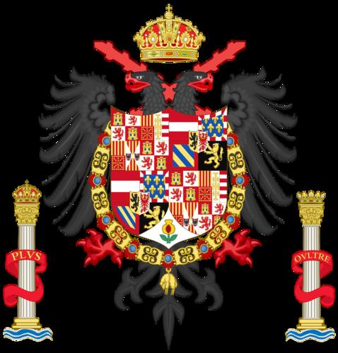 Герб Карла I, Короля Испании
