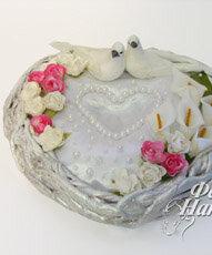 подушечка для колец, свадьба
