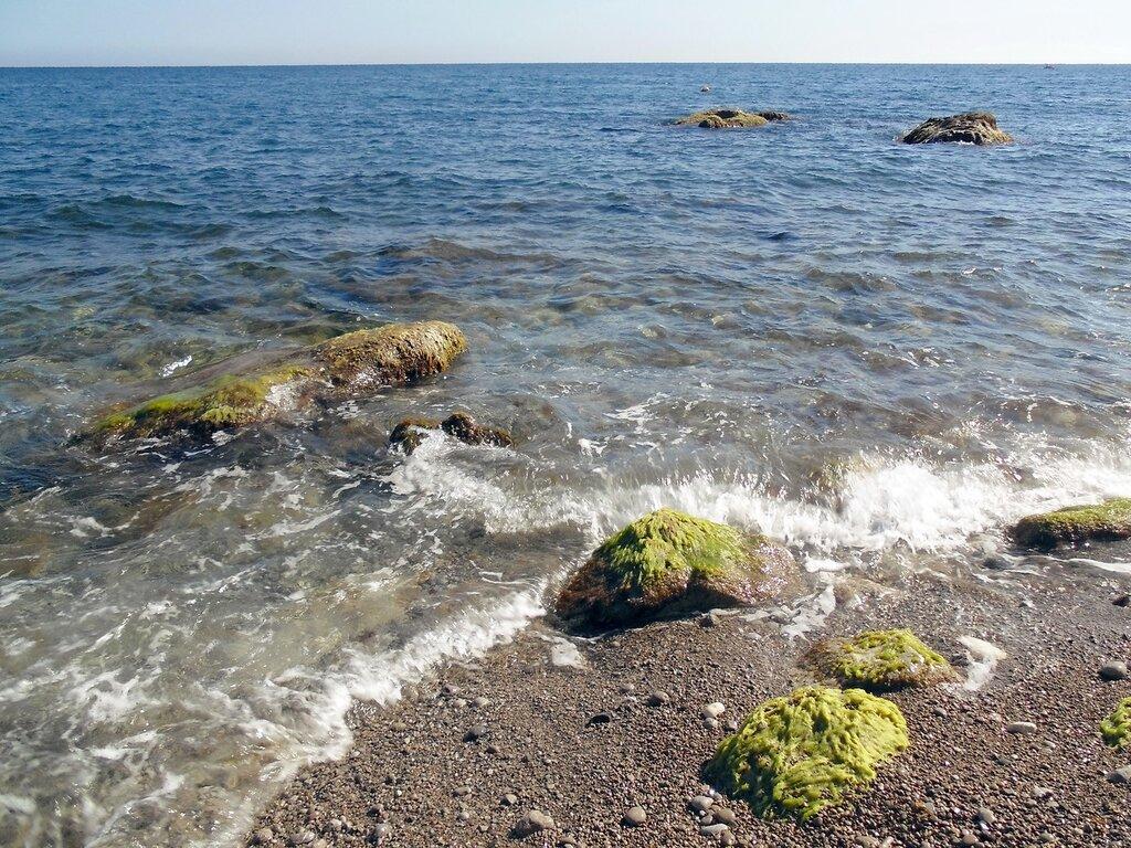 Крым, Симеиз,прибой