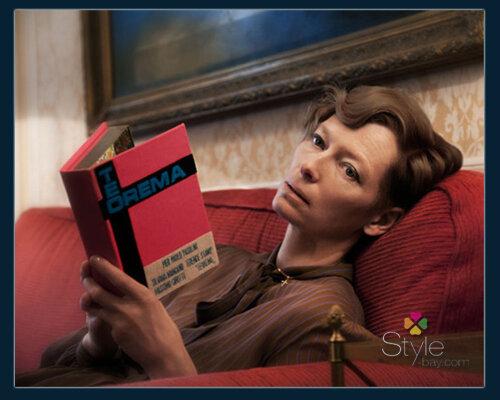 Тильда Суинтон в рекламной кампании Olympia Le Tan