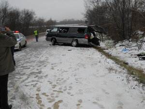 Крупное ДТП в Чугуевском районе унесло жизни шестерых человек