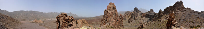 Скалы Гарсиа и вулкан Тейде, Тенерифе
