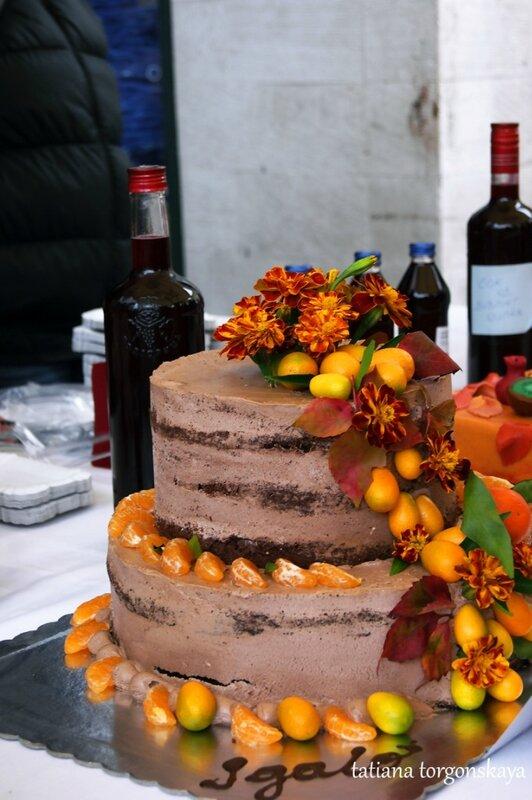 Торт из пекарни