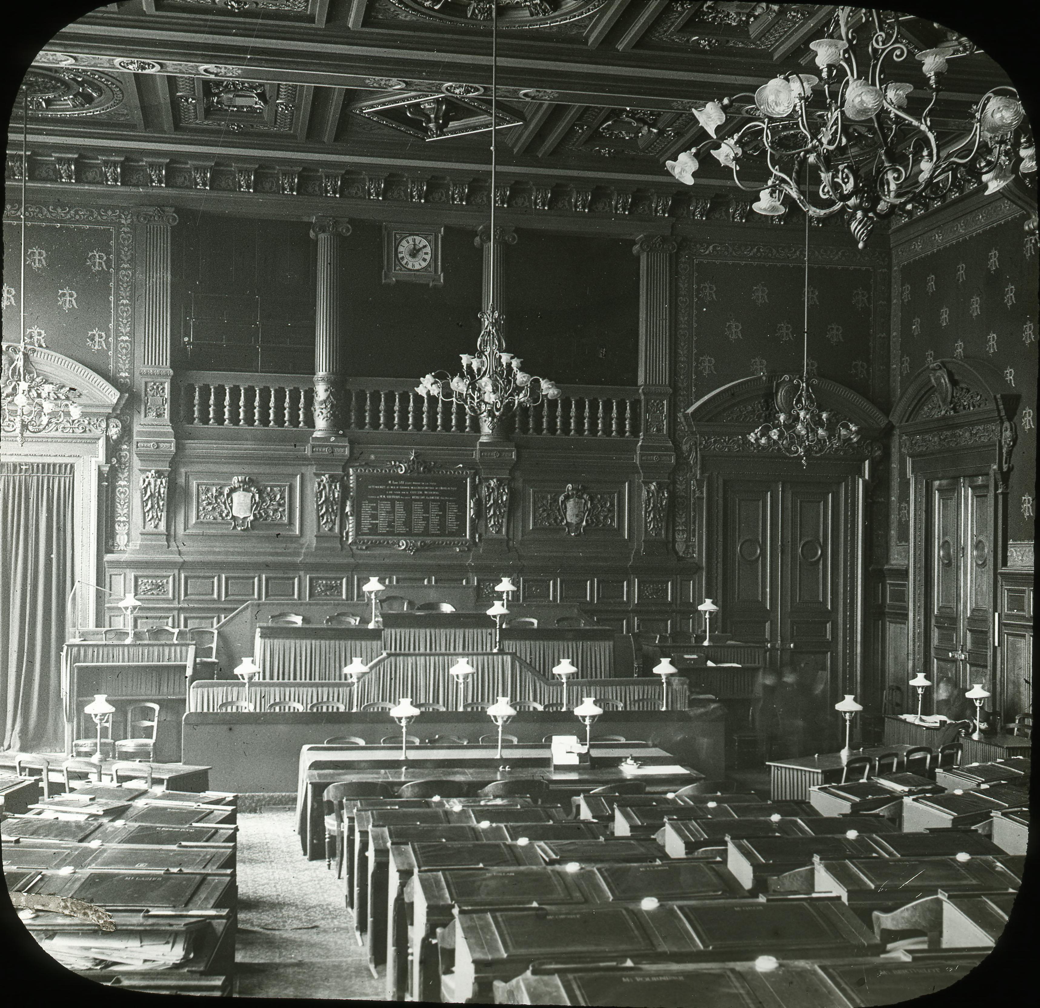 Отель-де-Виль. Зал Совета