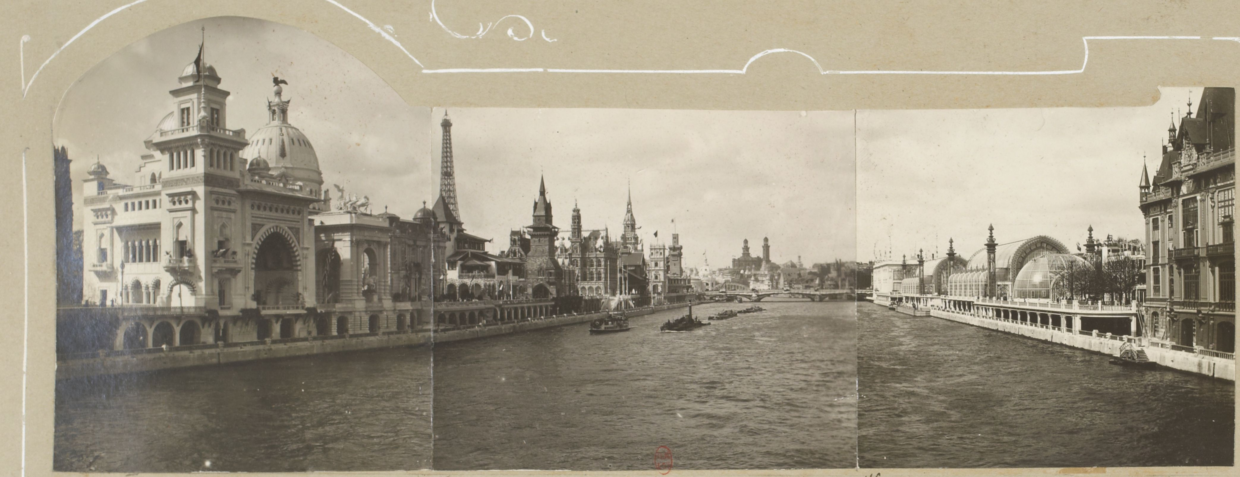 Вид Выставки с реки
