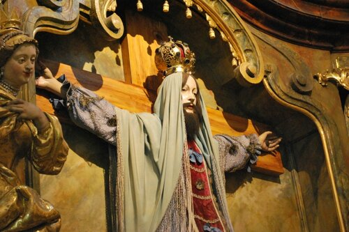 Святая Староста. Лоретанский монастырь, Прага.