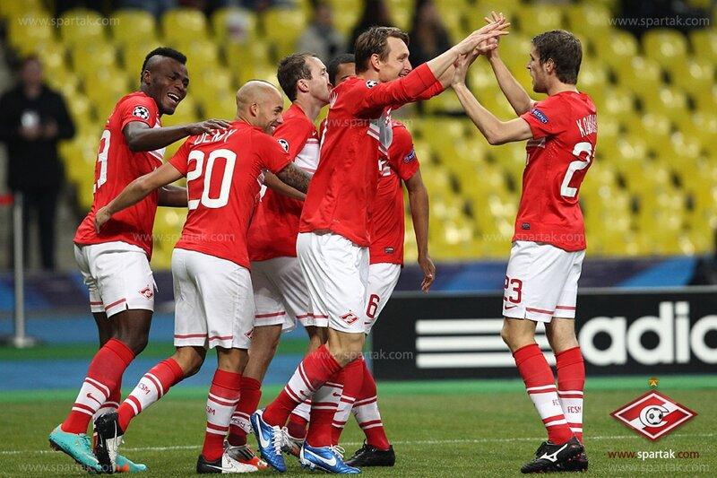 «Спартак» vs «Селтик» 2:3 Лига чемпионов 2012-2013 (Фото)