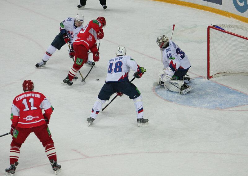 «Спартак» vs «Металлург» Мг 2:7 чемпионат КХЛ 2012-2013 (Фото)