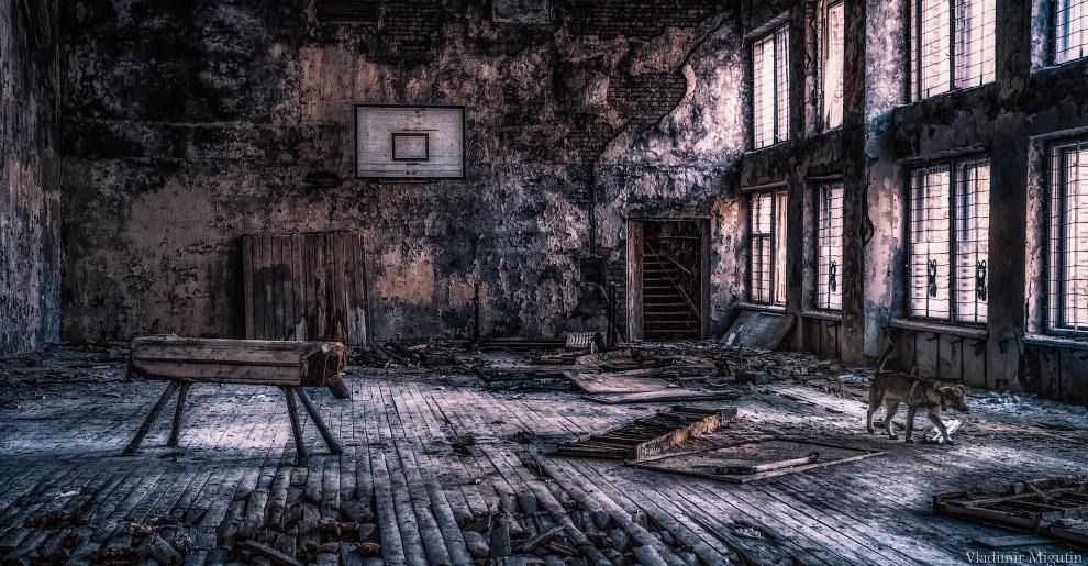 Припять на инфракрасных снимках Владимира Мигутина