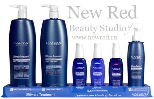 Кератиновое протезирование волос от LANZA в Студии красоты  New Red Краснодар