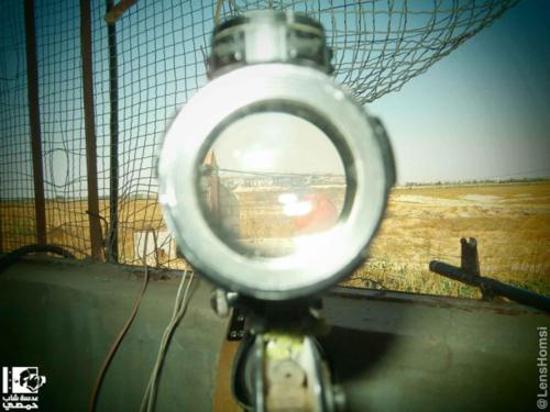 Среди снайперов в Алеппо