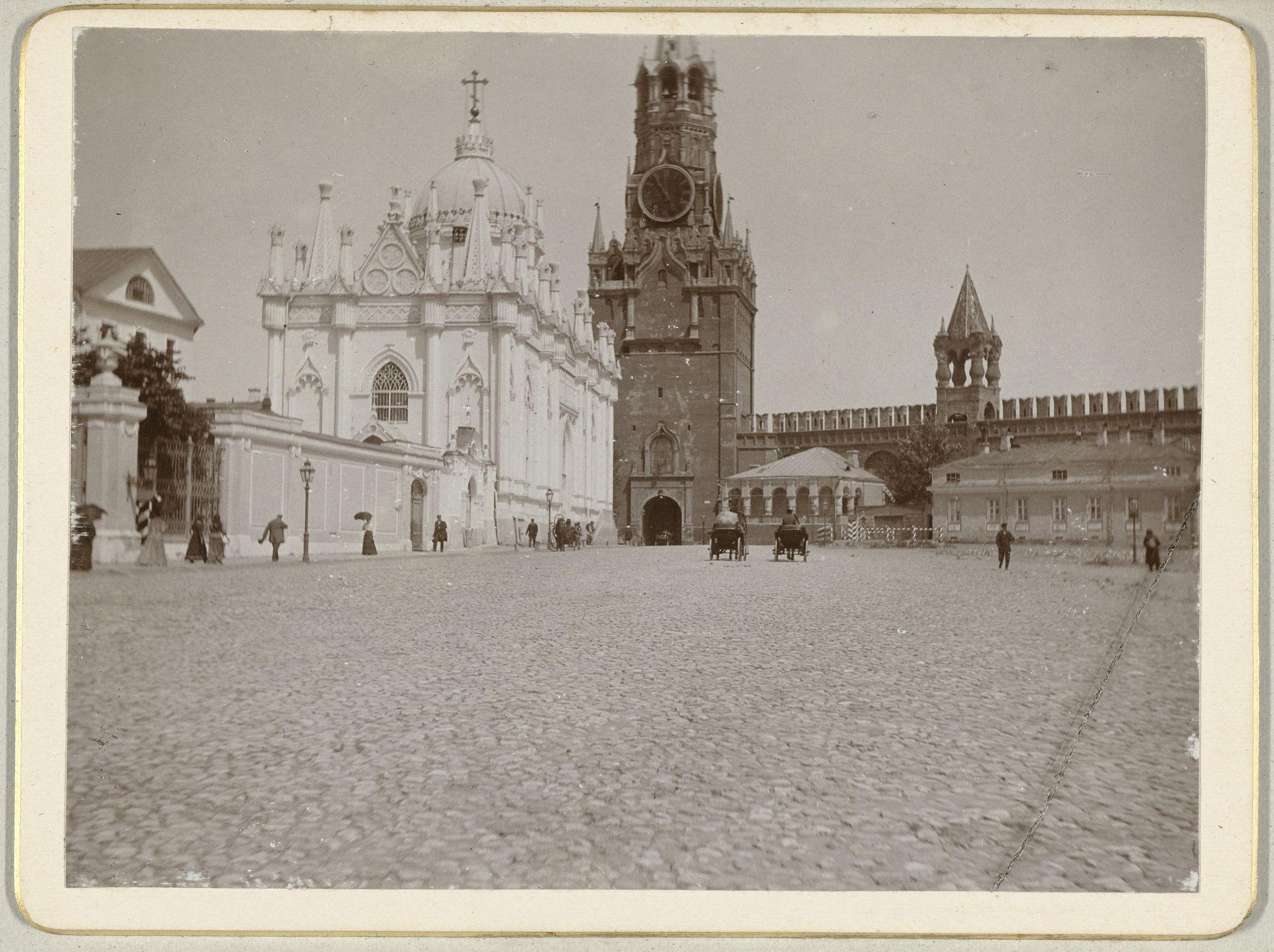 Фото старой москвы кремль 6
