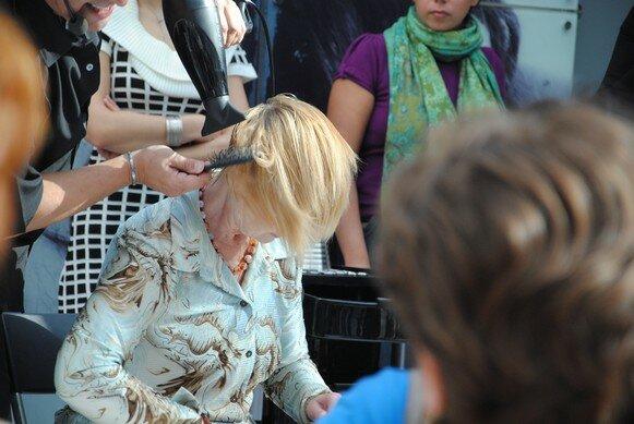 стрижка на короткие волосы с окраской