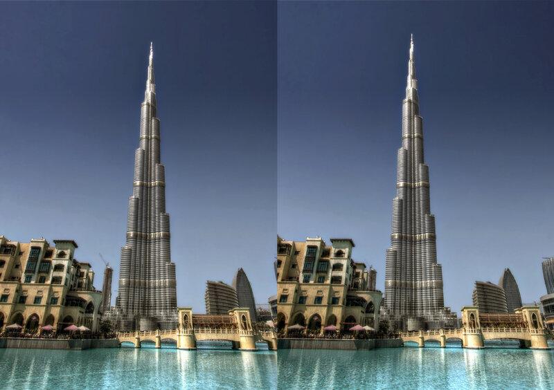 Дубай. Стереопара, перекрёстная стереопара, 3D, X3D, стерео фото, crossstereopairs, stereo photo, stereoview