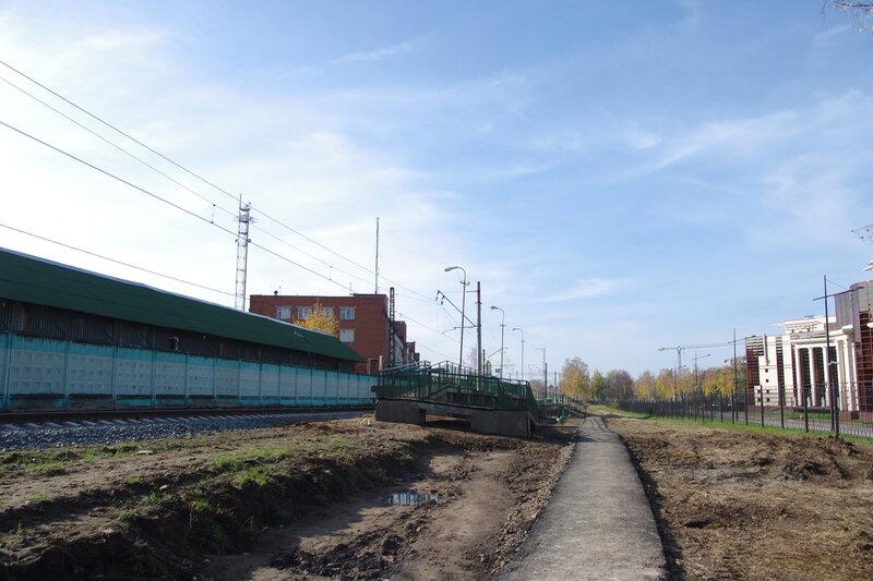 Станция Усово, новая платформа