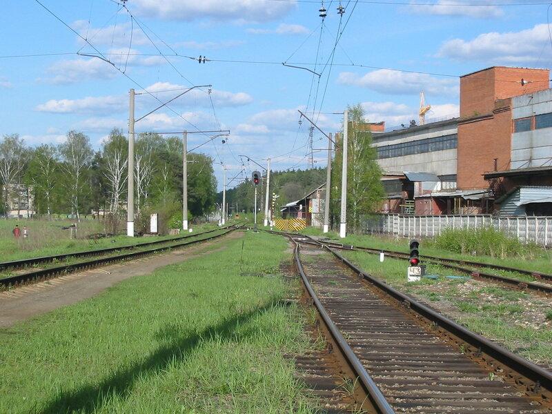 Станция Усово