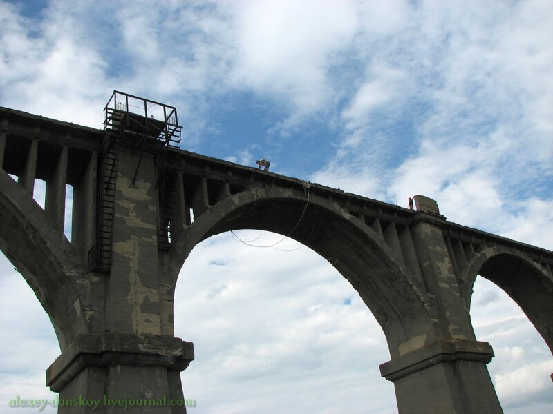 Старый Мокринский железнодорожный мост