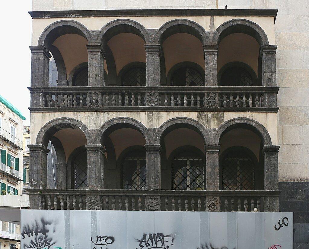 Неаполь. Монтеоливето