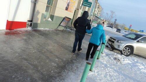 Гололед в Барабинске